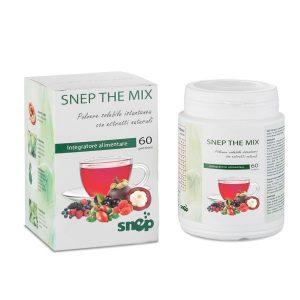 Integratore alimentare drenante e antiossidante naturale: The Mix Snep